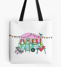 Cute Caravan/Trailer Tote Bag