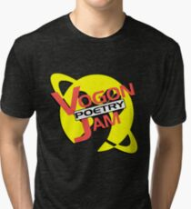 Vogon Poetry Jam (just logo) Tri-blend T-Shirt