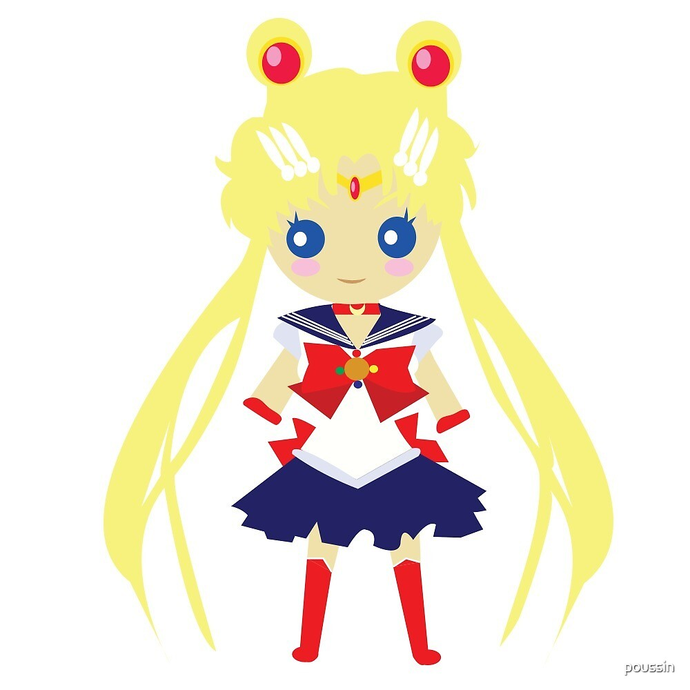 Chibi Sailor Moon by poussin