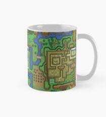 The Legend of Zelda: A Link to the Past Map Mug