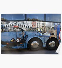 Venice On Wheels Poster