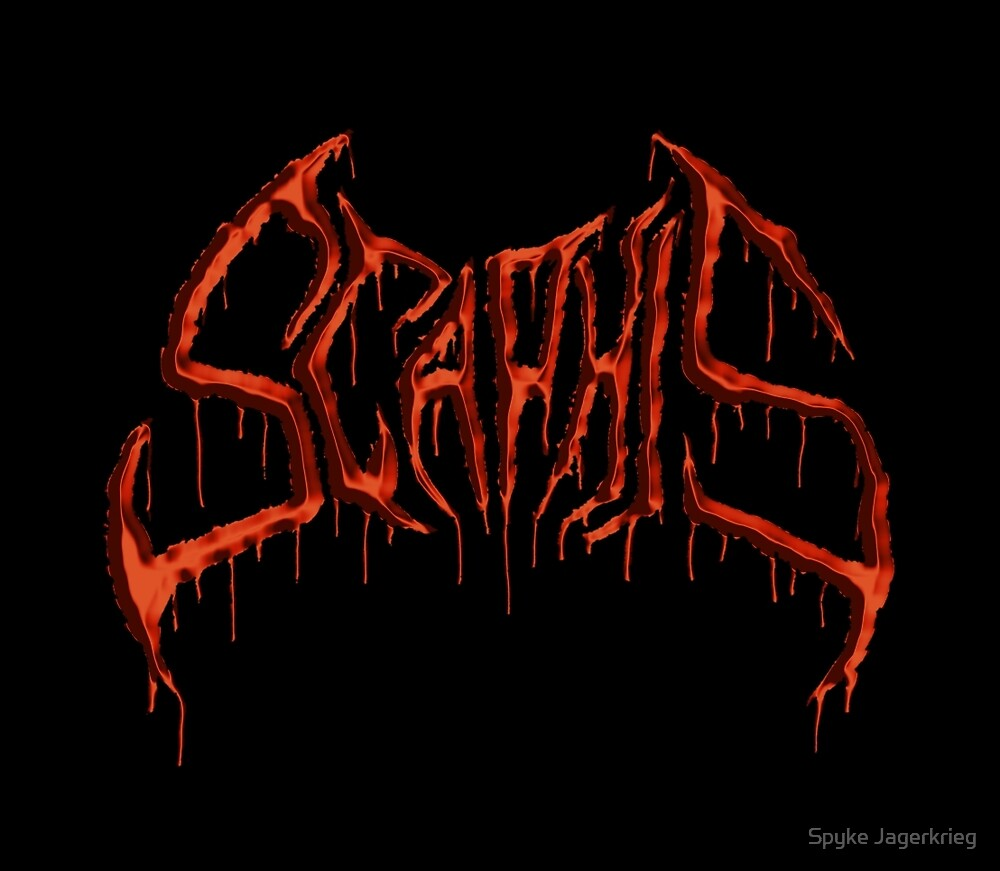 Scaphis Logo - Blood by Spyke Jagerkrieg