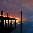 Tippler's Sunset - South Stradbroke Island by Beth  Wode