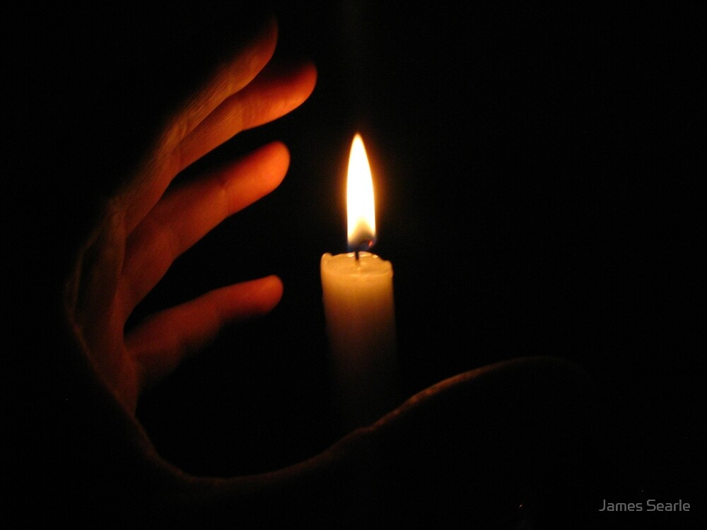 My Hand Around The Candle by James Searle