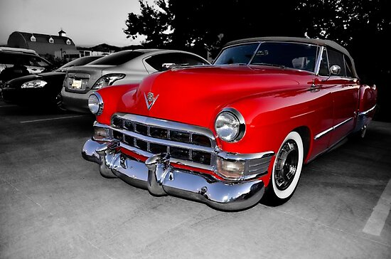 1949 Cadillac Convertible                (please view large) by LarryB007