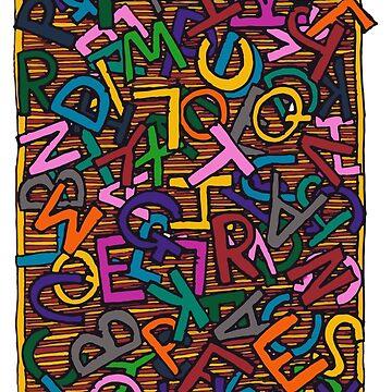 Alphabet by CuccuCollective