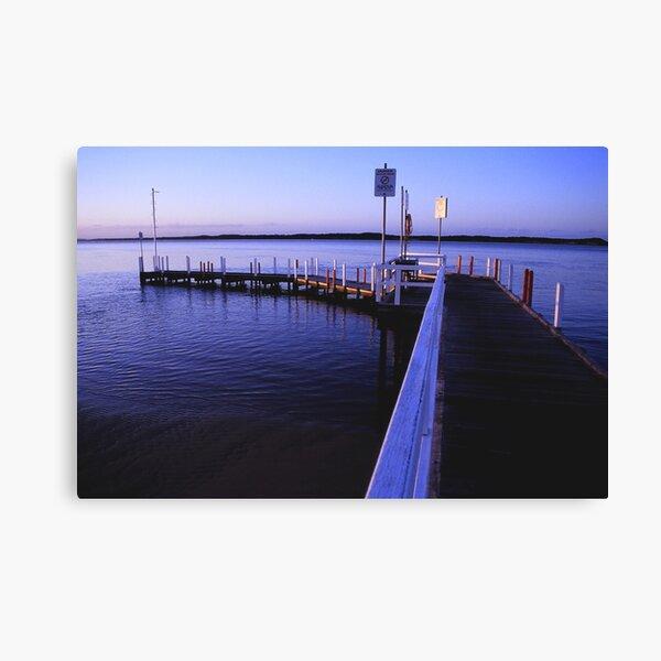anderson inlet jetty inverloch Canvas Print