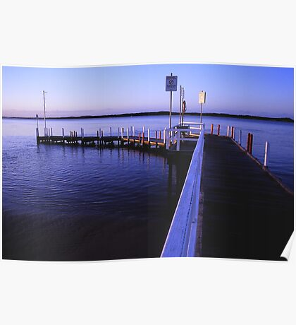anderson inlet jetty inverloch Poster