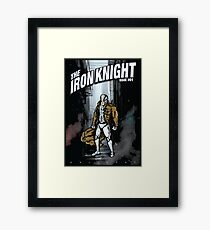 The Iron Knight - Issue #01 Framed Print