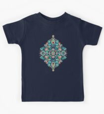 Modern Folk in Jewel Colors Kids Clothes