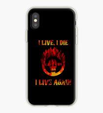 I Live, I Die, I Live Again iPhone Case