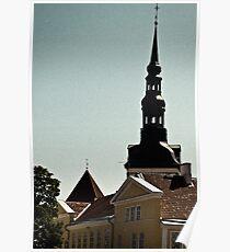 Tallinn, Toompea Poster