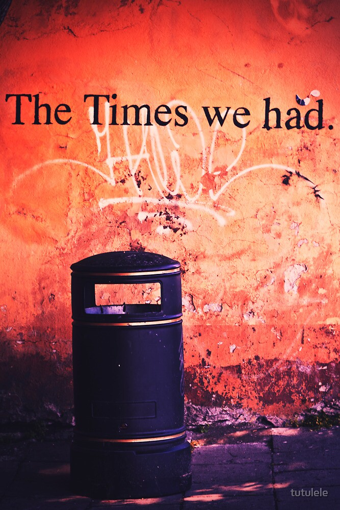 The Times we had. by tutulele