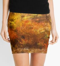 Autumn Leaves 09 Mini Skirt