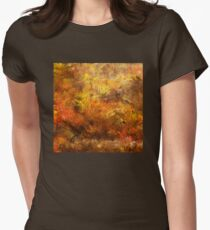 Autumn Leaves 09 Women's Fitted T-Shirt