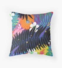 Purple Paradise in Shadows Coussin de sol