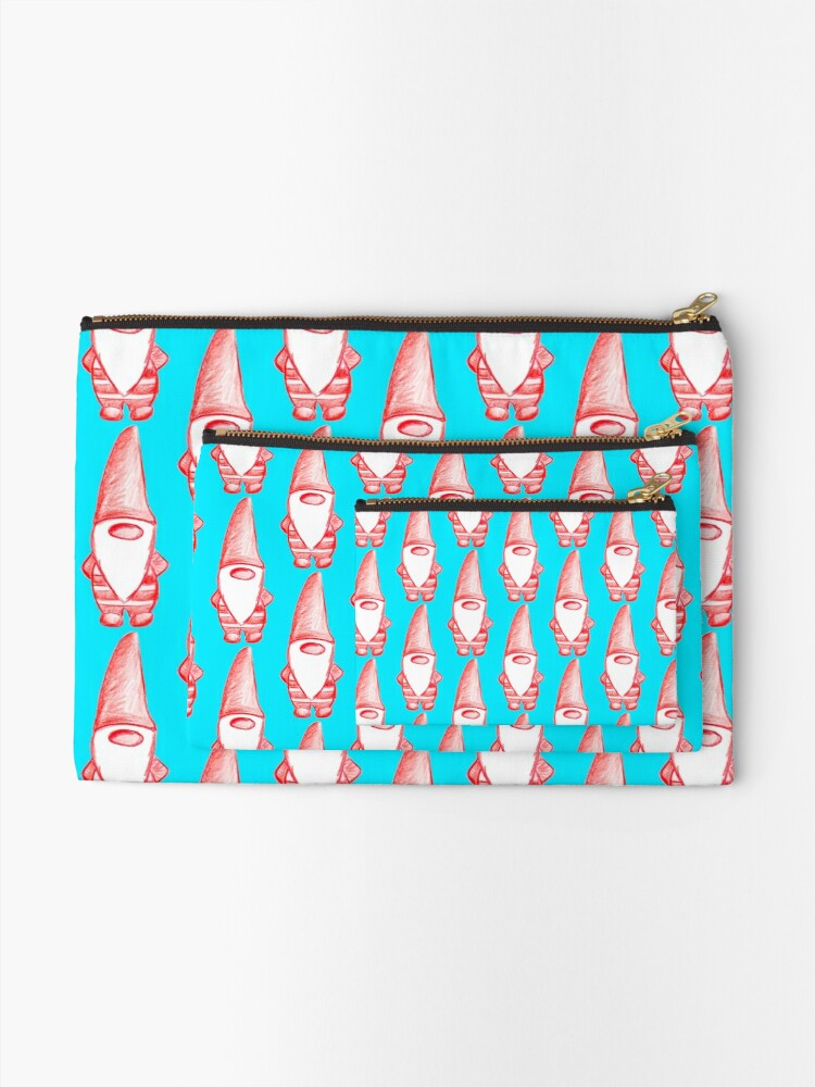 Alternate view of My little gnome Zipper Pouch