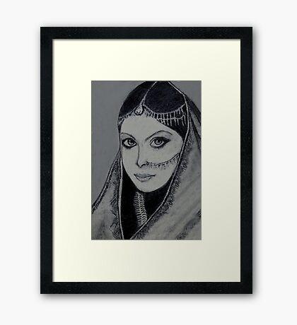 Rajasthani Bride......India Framed Print