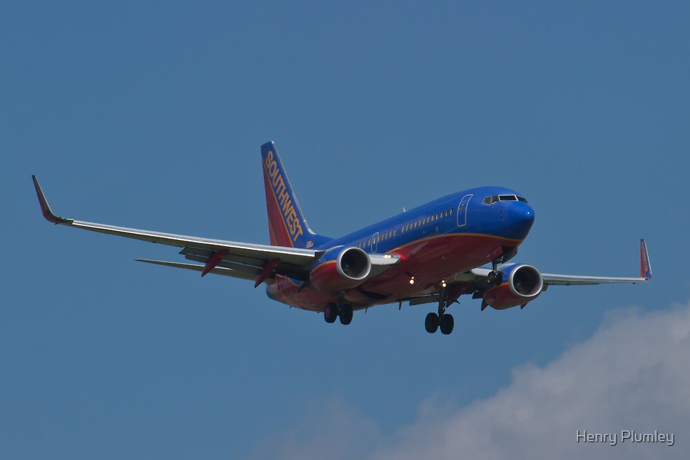 N293WN, Southwest Airlines, Boeing 737-7H4 by Henry Plumley
