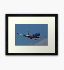 N293WN, Southwest Airlines, Boeing 737-7H4 Framed Print