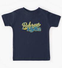 Rebrew 1982 blue Kids Tee