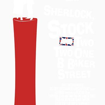 Sherlock, Stock and 221B Baker Street by Blayde