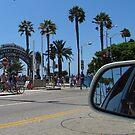 Santa Monica Pier by Gloria Abbey