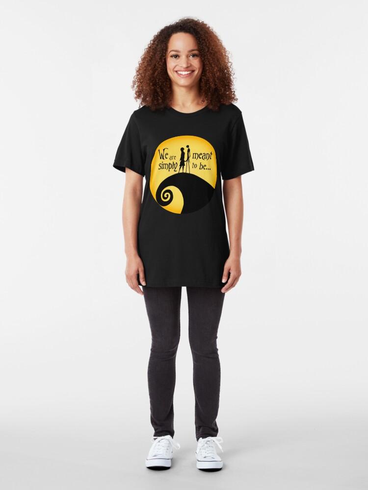 Alternative Ansicht von Jack und Sally Slim Fit T-Shirt