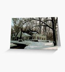 N. C. Wyeth Home Greeting Card