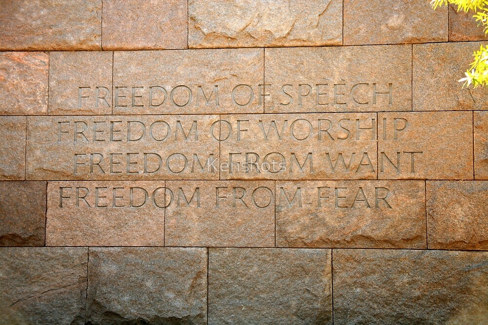 FDR Four  Freedoms 1627 by Kenshots