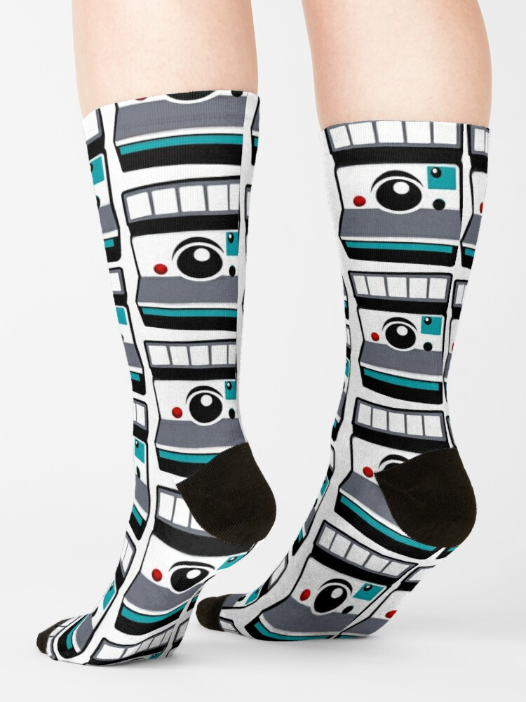 Alternate view of Retro Instant Camera Socks