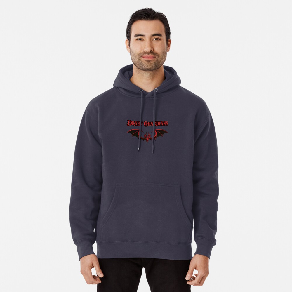 Draev Guardians wing symbol Pullover Hoodie