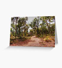 Exploring The Australian Bush Greeting Card