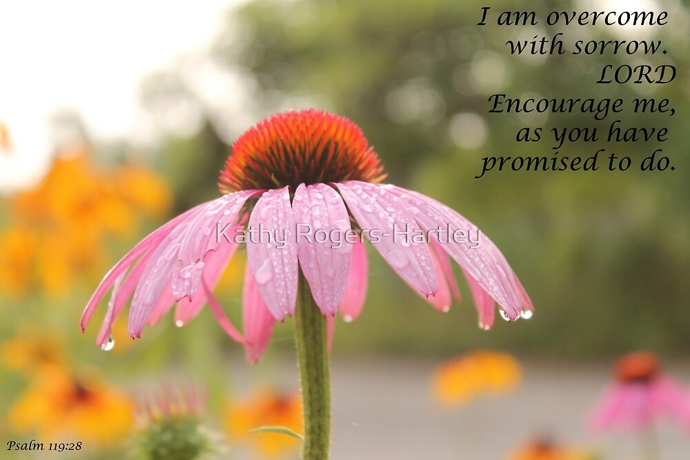 Psalm 119:28 by Kathy Rogers-Hartley
