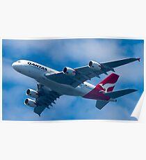 Qantas A380 Poster