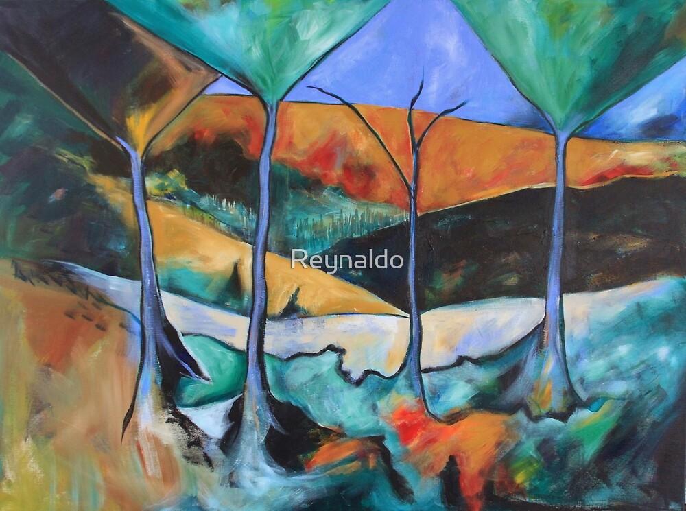 Paradise...Just Over The Ridge by Reynaldo