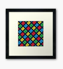 PIXEL CARTRIDGE Framed Print