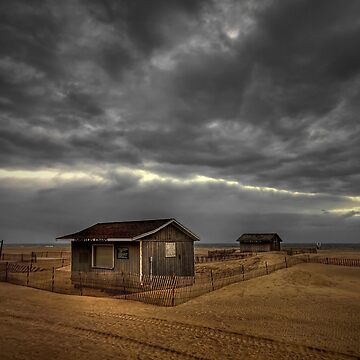 Lonely Beach Shacks by hybcemoe