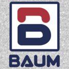 Richie Tenenbaum (Royal Tenenbaums) 'BAUM' Shirt  by Tabner