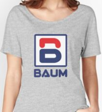 Richie Tenenbaum (Royal Tenenbaums) 'BAUM' Shirt  Women's Relaxed Fit T-Shirt