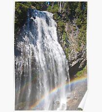 Narada Falls, Mt. Rainier National Park Poster