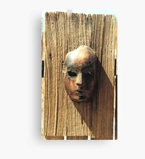 Rust Face Canvas Print