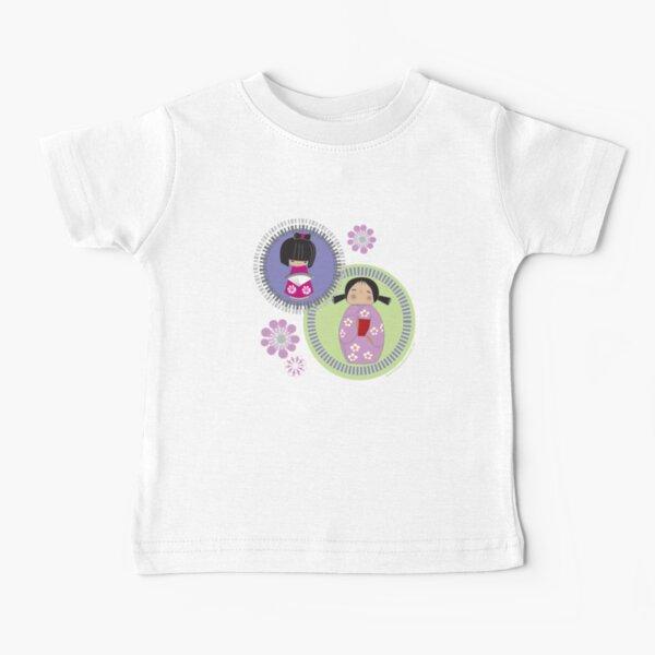 kokeshi twins Baby T-Shirt