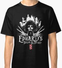Edward's Salon and Topiary - Edward Scissorhands Classic T-Shirt