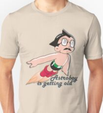 Astroman is getting old Unisex T-Shirt