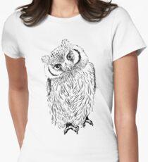 Owl hand drawn T-Shirt
