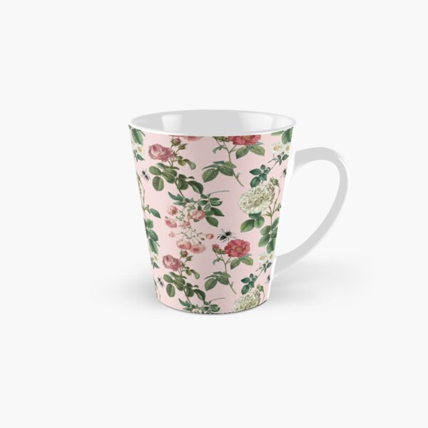 Antique Rose Blush Pink Tall Mug