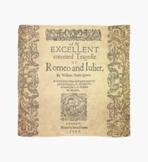 Shakespeare, Romeo and Juliet 1597 Scarf