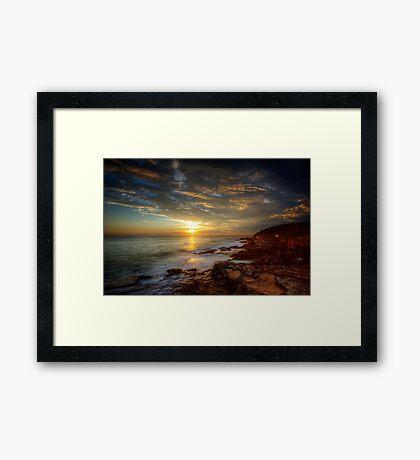 Maroubra Sunrise Framed Print