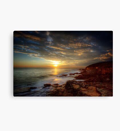 Maroubra Sunrise Canvas Print